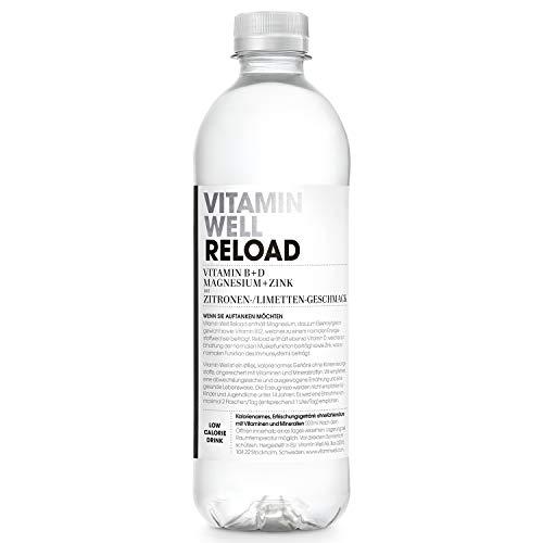 VITAMIN WELL Reload 12 x 500ml Vitamin Well ist ein funktionelles und kalorienarmes Getränk, angereichert mit funktionalen Komponenten wie Vitaminen und Mineralstoffen.