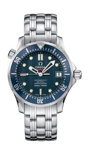 Omega 2222.80 - Orologio da polso con cronometro Seamaster 300M, misura...