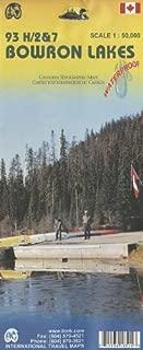 Bowron Lakes 1:50,000 93 H/2&7 (BC, Canada) Hiking Map (International Travel Maps)
