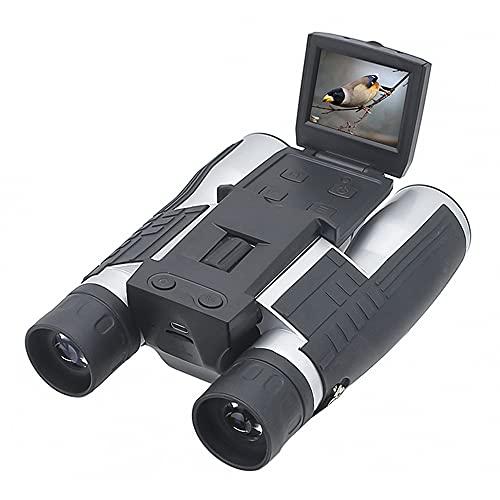 "DCKJ 12x32 Digital Binoculars 2.0"" LCD Screen Binoculars USB HD Digital Camera Photo Video Outdoor Binoculars.Look at The World, I Am The Best!"