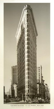 Germanposters Henri Plata Muñeco Flatiron Building Póster De Impresión, Ohne Rahmen