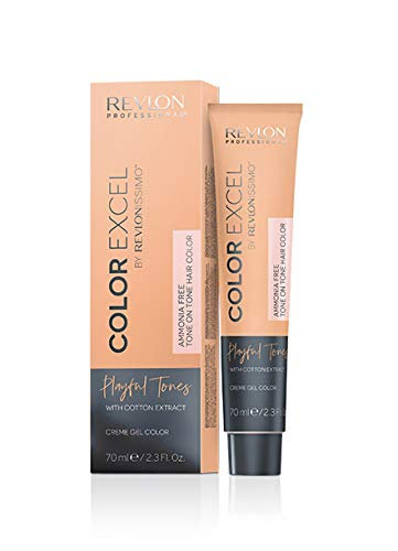 Revlon Professional Color Excel By Revlonissimo Playful Tones Ammonia Free Tone On Tone Hair Color Peach, 1er Pack(1 x 70 milliliters)