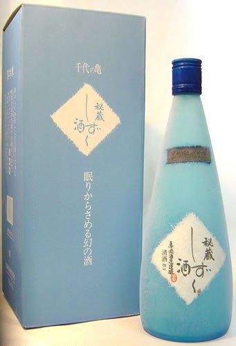 千代の亀酒造『純米大吟醸 秘蔵しずく酒』
