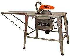 ATIKA HT 315 3300W 400V scie circulaire scie de table scie de table jambes de table renforcées NOUVEAU