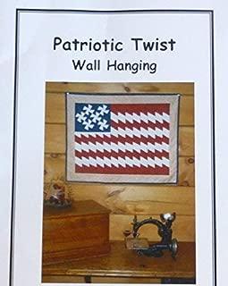 Patriotic Twist Wall Hanging Pattern Twister Pinwheel Pattern