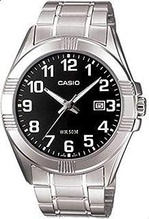 ساعة كاسيو معدنية للرجال ام تي بي -1308d-1b