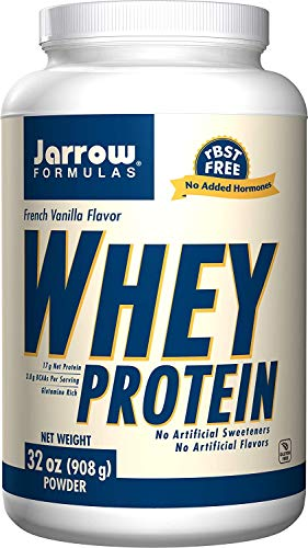 Jarrow formulas whey protein supports muscle development, french...