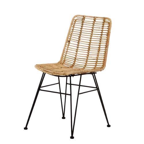 Chaise en rotin tressé moderne 60002 Magy animal-design salon salle à manger