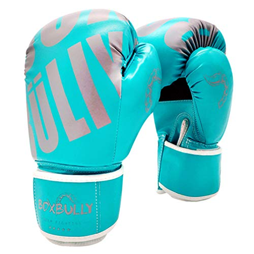 FitTrek Boxhandschuhe - Boxing Handschuhe Kinder Damen Herren - MMA, Muay Thai, Kickboxen, Boxsack, Sandsack, Sparring, Kampfsport, Punching Handschuhe - Boxing Gloves für Mädchen Männer Frauen Jungs