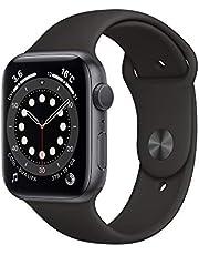 Apple Watch Series 6(GPS型號)- 44毫米太空灰鋁表殼和黑色運動表帶
