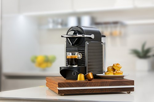 Nespresso Pixie Original Espresso Machine by Breville, Titan