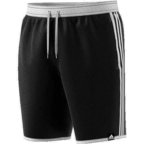adidas Herren 3-Streifen CLX Badeshorts, Black, 4