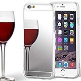 United Case TPU con Espejo para Apple iPhone 6 Plus / 6s Plus   Plata Bling Cover   Cubierta