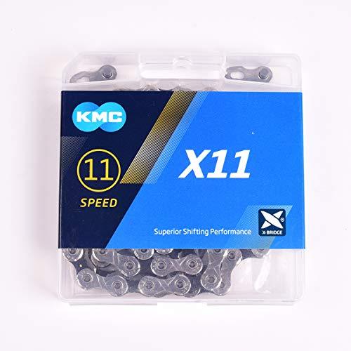 KMC_ 2019 X11.93 X11 Cadena de Ciclismo 1/2 x 11/128 11 velocidades 118 eslabones