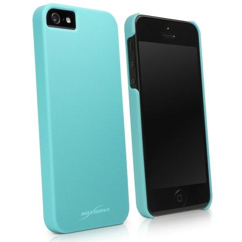 Boxwave Minimus custodia Apple iPhone 5–Slim Fit protettiva custodia in policarbonato per durevole protezione anti-scivolo (super blu)