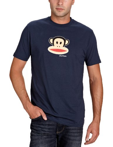 Paul Frank Herren T-shirt Julius Head Short Sleeve, navy, XS, 06-22AM60000