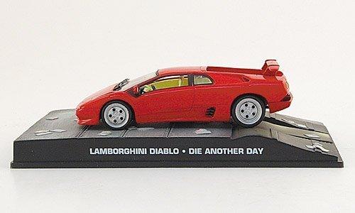 Lamborghini Diablo, rouge, James Bond 007, 2002, voiture miniature, Miniature déjà montée, SpecialC.-007 1:43