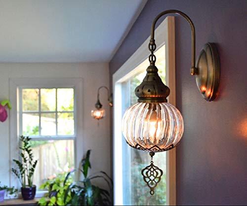 Lámpara de pared marroquí para baño, iluminación oriental, iluminación de pared, iluminación turca, lámpara de pasillo, lámpara de pared hecha a mano