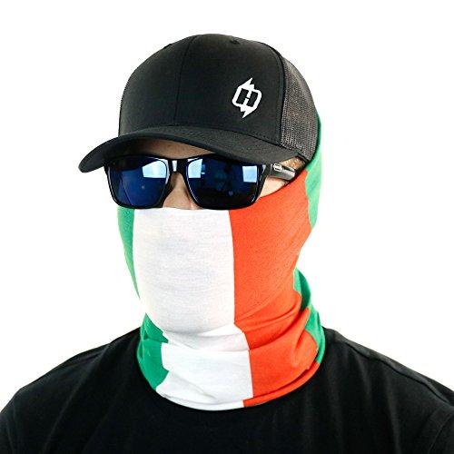 Hoo-Rag Italian Flag Bandana
