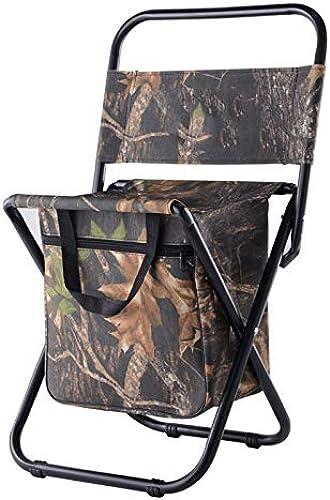Chaise pliante extérieure Capacité 200KG résistante portative légère de tabouret de chaise de tabouret pour pêcher le pique-nique de randonnée avec le sac de stockage Voyages de camping pour la randon