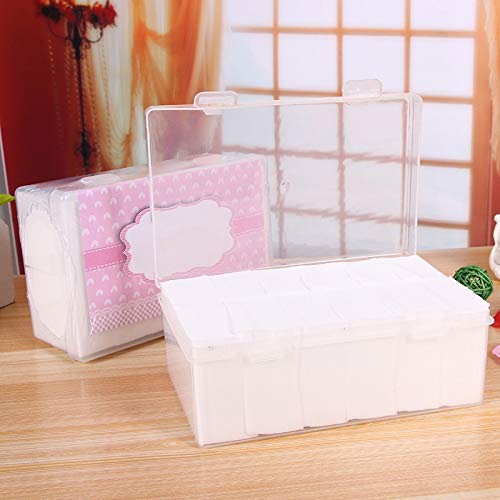 Santé et beauté 1000 tampons de souffle faciaux de coton minces molles de maquillage de PCS Houppette