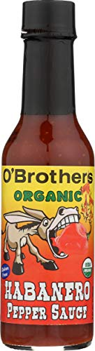 O#039Brothers Habanero Hot Sauce 5 oz