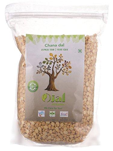 Ojal Organic Chana Dal / Bengal Gram Split 1 Kg