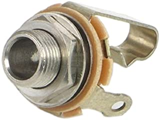 Switchcraft 11 Mono Female 1/4-Inch Jack with Nut and Washer, Nickel Finish