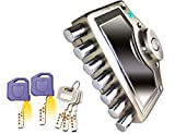 Mujees Rk-47 Ramson Series Door Safety Locks for Main Door 7 Bolt Interlock