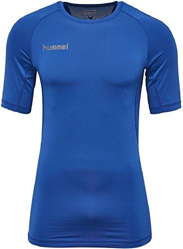 hummel Fonction à Manches Courtes en Jersey – First Performance SS – Maillot de Sport Div. Couleurs – T-Shirt d'entraînement T-Shirt avec Grand Confort – Fitness Respirant L True Blue