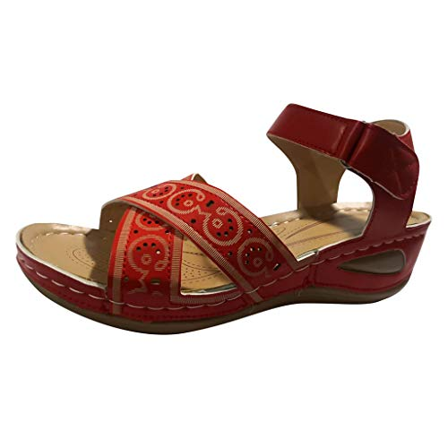 Shirazawa Women Comfort Wedges Heels Sandals Bohemian Summer Shoes Female Fashion Casual Open Toe Brethable Sandals