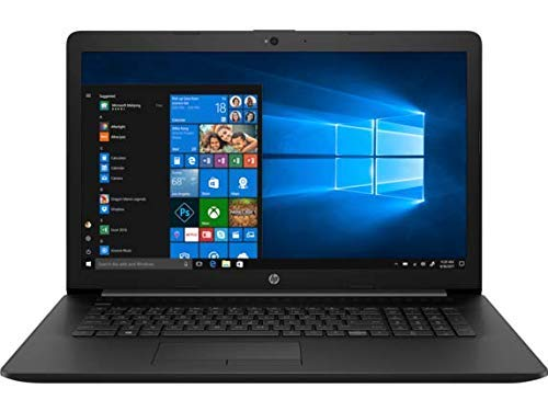 2018 HP 17.3-inch 17z Laptop PC - AMD Dual-Core A9 Processor, 8GB Memory, 1TB Hard Drive, Bluetooth, DVD Writer, USB 3.1, Windows 10, Jet Black (Renewed)