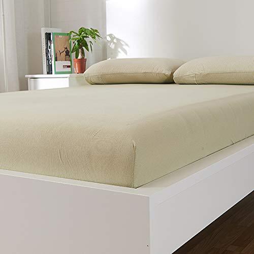 HAIBA Touch Spannbettlaken Spannbetttuch Bett, Kinderbett Couch Flauschiges Laken Tagesdecke,100x200+25CM