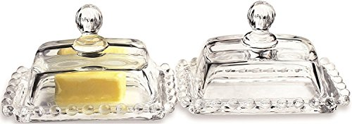 Circleware 66747 Catalina Glassware Serving Container For Dessert, 4.5x2.25, 4.5x2.252pc