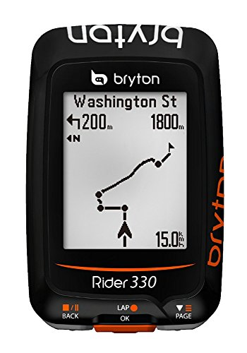 Bryton Velocímetro-GPS Rider 330H