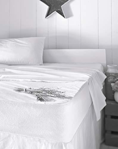 Mixibaby - Protector de colchón (200 x 200 cm)