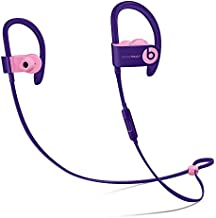 Beats Powerbeats3 Wireless Pop Violet Pop Collection in Ear Headphones MREW2LL/A (Renewed)
