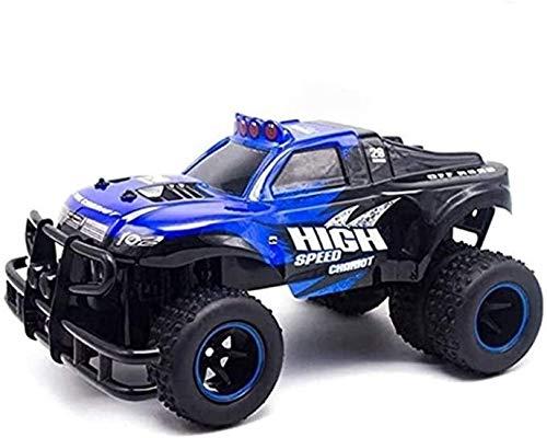 BHJH7 Coche RC de Alta Velocidad de 2,4 GHz Camión Monstruo de Control Remoto por Radio 4WD Vehículo Todoterreno RTR a Escala 1/10 Juguetes de Buggy de Grado Aficionado, Regalos para niños y niñas de
