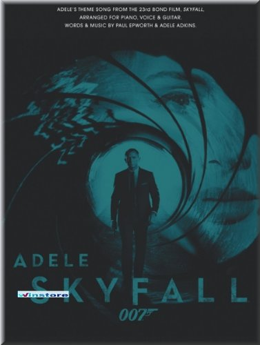 Adele - Skyfall - James Bond Theme - piano noten [muziek]