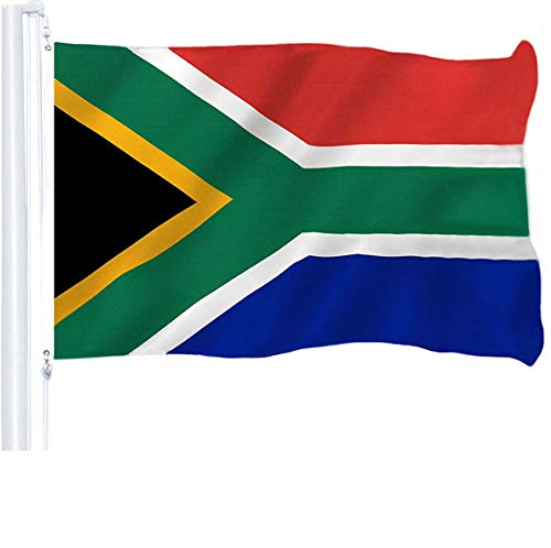 South African Flag Sprinbok Face Mask Tube Mask Seamless Bandana UV Protection Gaiter Scarf Breathable Microfiber Neck Warmer
