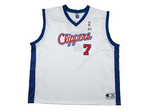 Champion NBA Clippers La Lamar Odom, (Blanco/Atheletic Royal), XX-Large