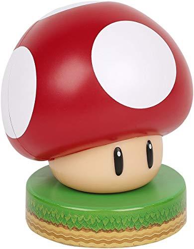 Super Mario Mushroom 3D Leuchte Icon Light