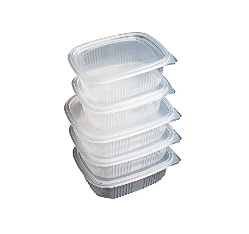 Envases desechables para alimentos con tapa