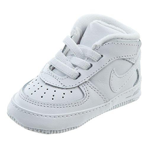 Nike Force 1 (CB), lage sneakers baby jongens, wit 100), 18,5 EU
