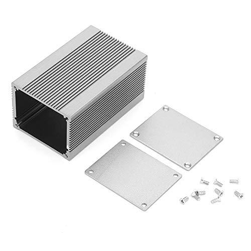 Aluminiumgehäuse Kühlbox Leiterplatte Instrument Integral Aluminium Box für Blitzschutz DIY Elektronische Projekt Gehäuse Fall