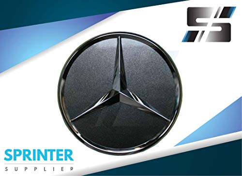 Mercedes Sprinter Rear Door Chrome Star Badge Emblem Logo W906 2007+ BG81030