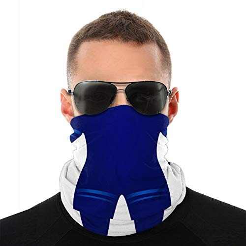 Taucheranzug im blauen Design Sturmhaube Sport Bergsteigen Ski Outdoor Winddichte Radsport Gesichtsmaske Masken & Schilde