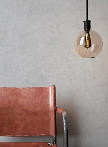 *NEWROOM Beton-Optik Tapete Grau Beton Modern Papiertapete Papier moderne Design 3D Optik Betonoptik Betonwand Architekt inkl. Tapezier-Ratgeber*