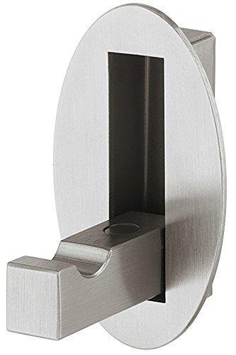 Wand-Paneel Klapphaken Edelstahl Garderobe Kleiderhaken klappbar Kleiderlüfter - Modell 8005   Haken zum Einlassen   MADE IN GERMANY   Möbelbeschläge von GedoTec®