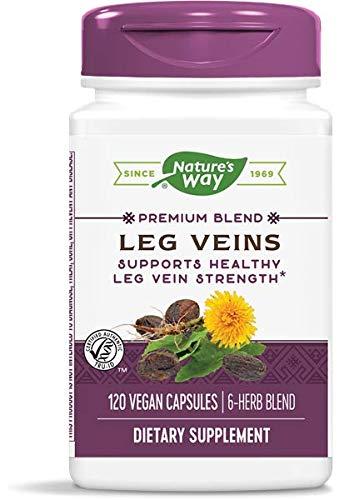 Nature's Way Leg Veins Support Blend; with Tru-OPCSTM; Vegetarian; 120 Vegetarian Capsules